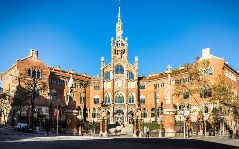 Recinto modernsta de San Pau - Barcelona